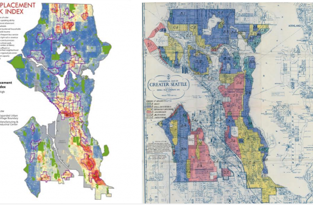 Tale Of Two Maps Seattle Mayor And Council Draw New Redline